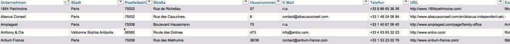 Top 50 multi family offices frankreich liste der gr ten franz sischen mfos - Liste family office france ...