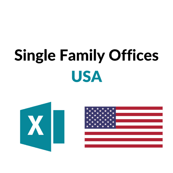 liste single family offices usa