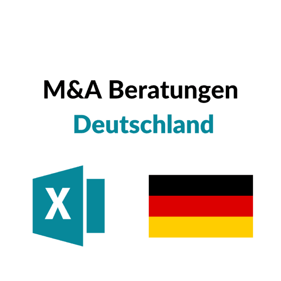 Liste M&A Corporate Finance Beratungen Deutschland