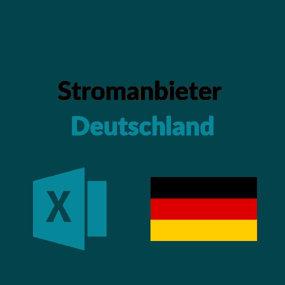 Liste Stromanbieter Deutschland