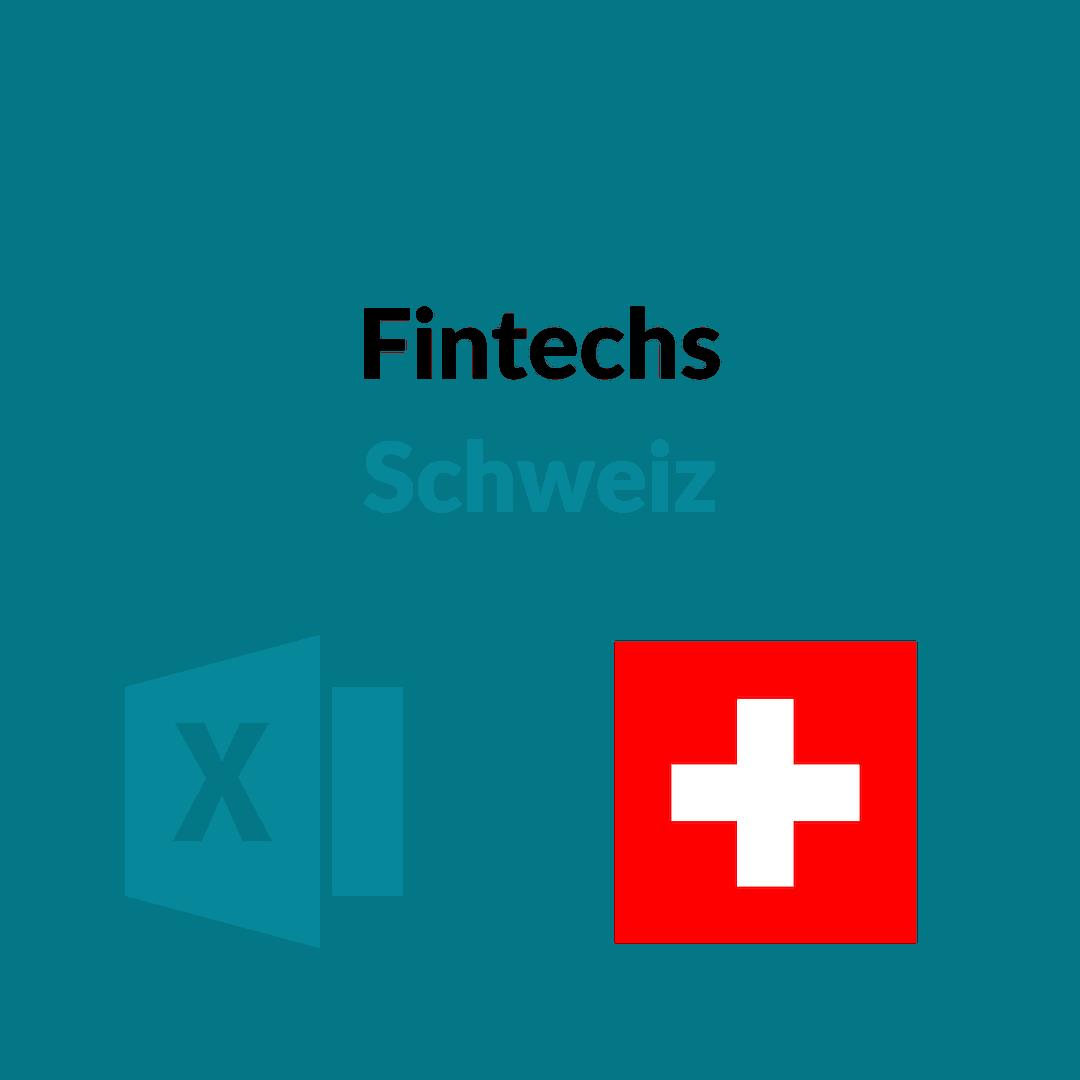 Liste Fintechs Schweiz