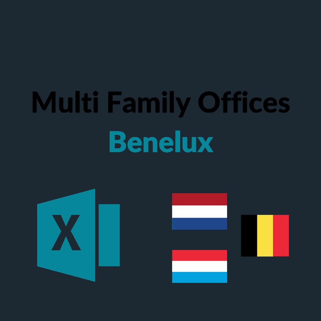 liste multi family offices benelux