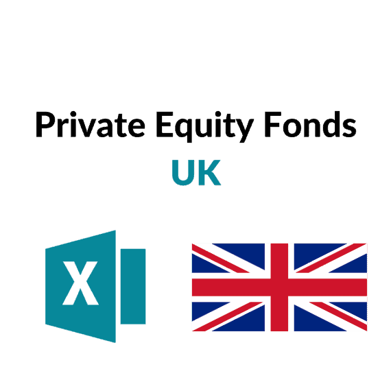 liste private equity fonds uk england