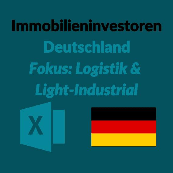 liste größte investoren light industrial logistik immobilien