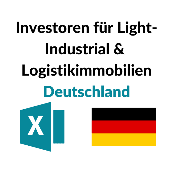 liste investoren logistik light-industrial immobilien deutschland