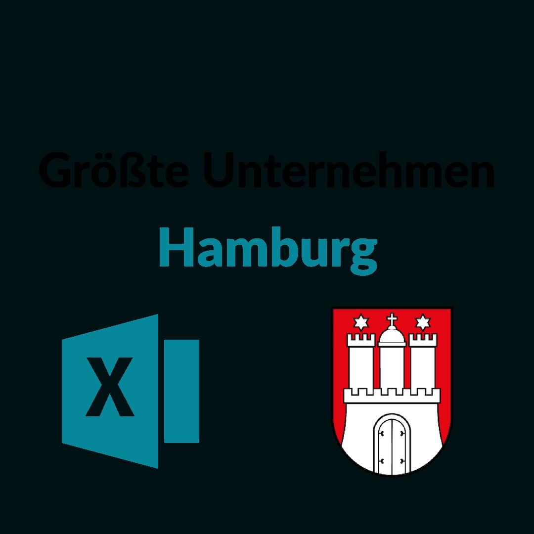 Liste der 50 größten Unternehmen aus Hamburg