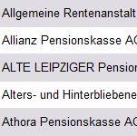 Vorschau Pensionskassen Deutschland